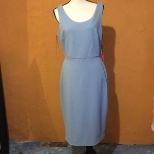 Betset Johnson blue dress size 12 NWT